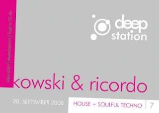 Deep Station @ White Rabbit, Samstag 20. September