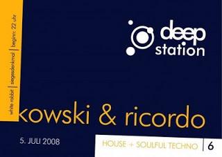 Deep Station @ White Rabbit, Sa. 05. Juli