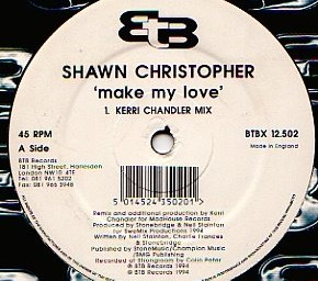 Shawn Christopher – Make My Love (Kerri Chandler Remix)