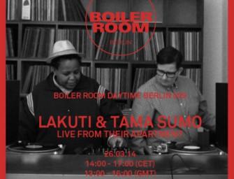 Boiler Room Berlin Daytime: Lakuti & Tama Sumo
